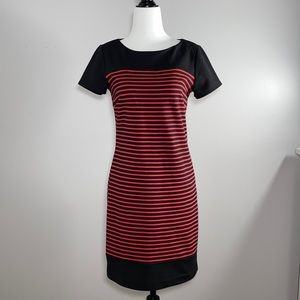 Laundry by Shelli Segal Black and Red Dress